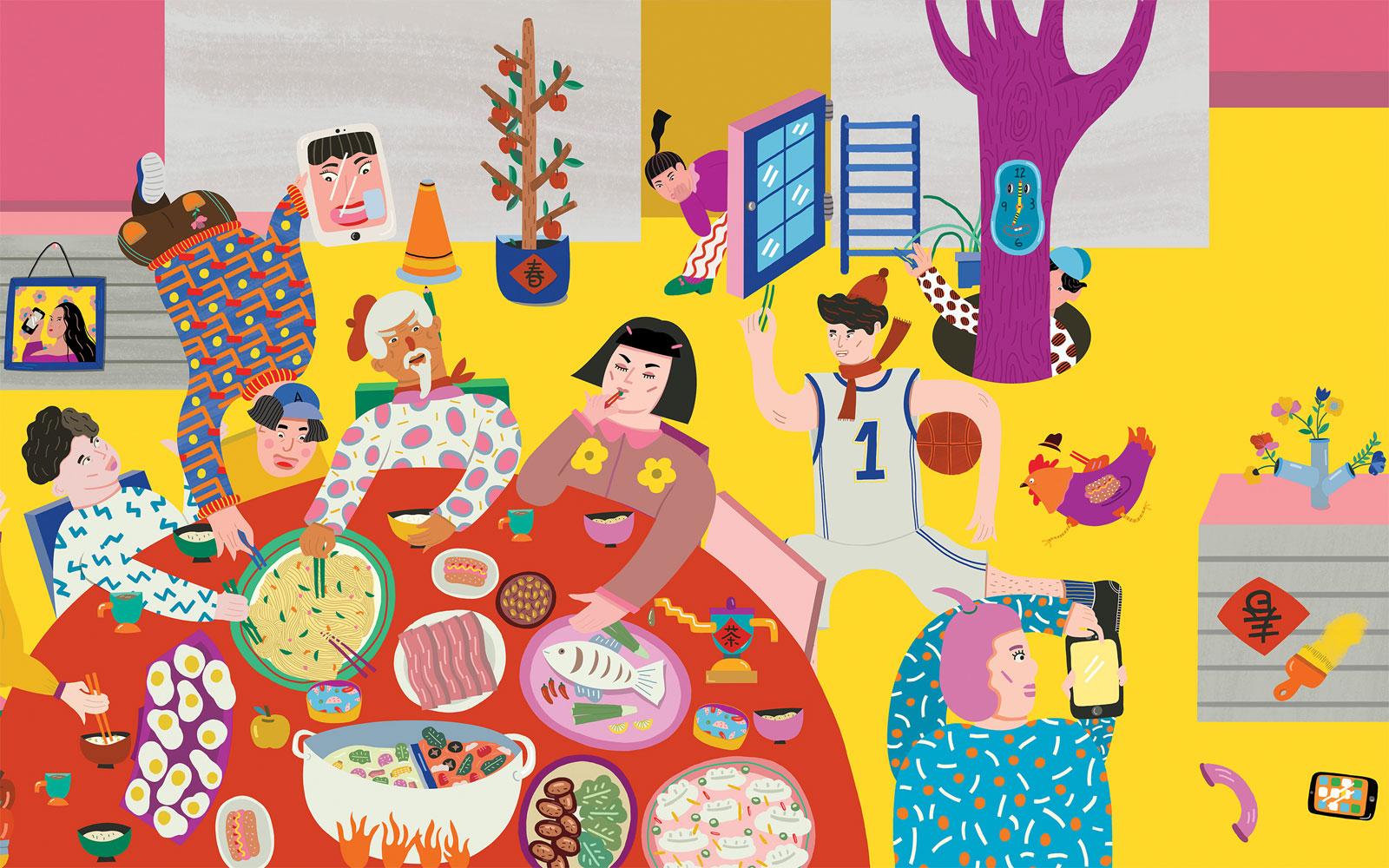 Joyful Reunions de Eszter Chen