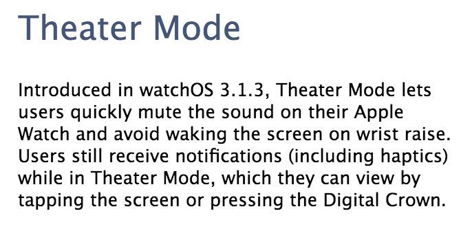 Explicación del Theater Mode