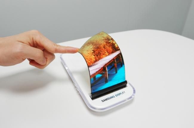 Pantalla flexible de Samsung Display