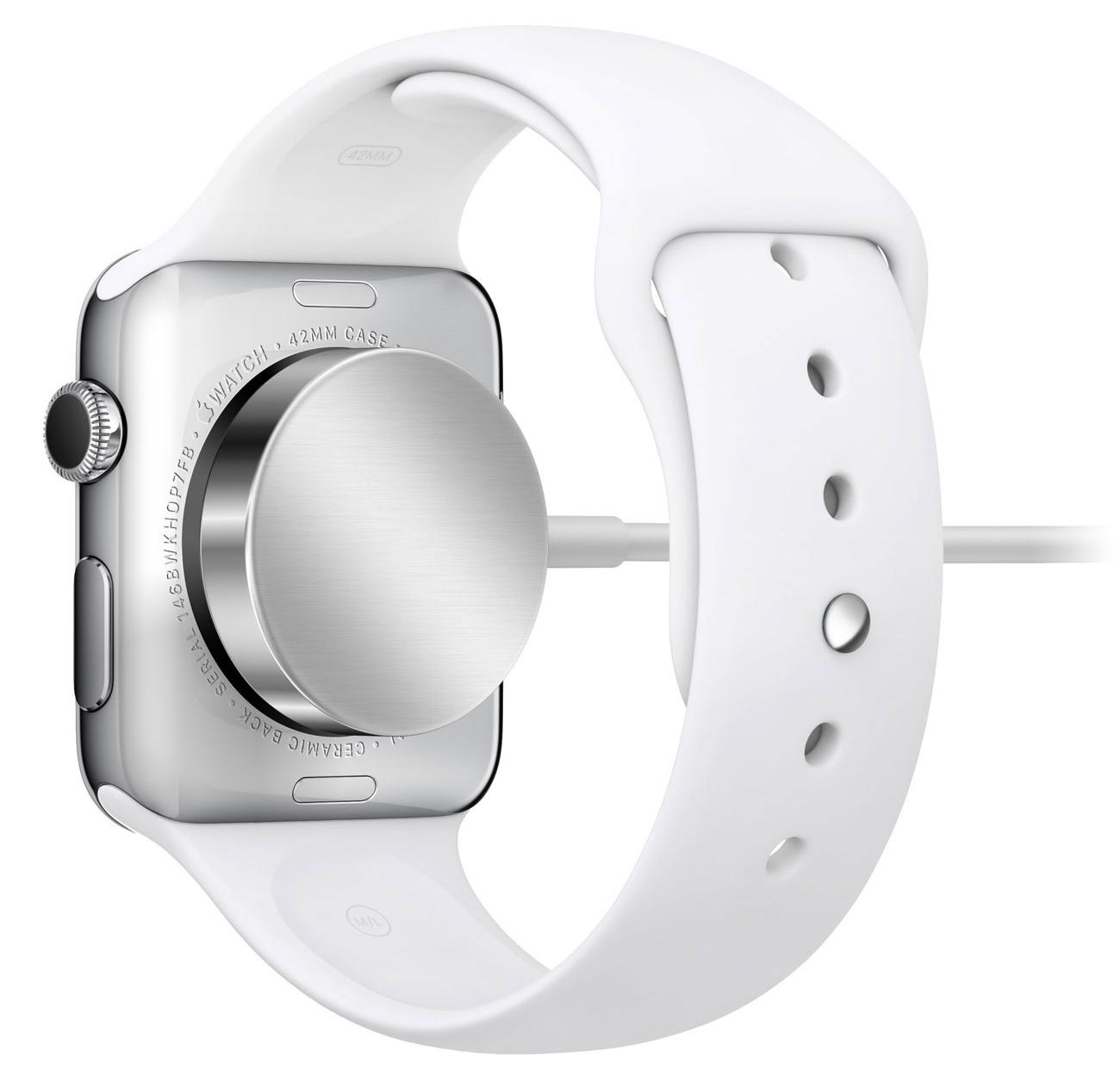 Cargando el Apple Watch inalámbricamente