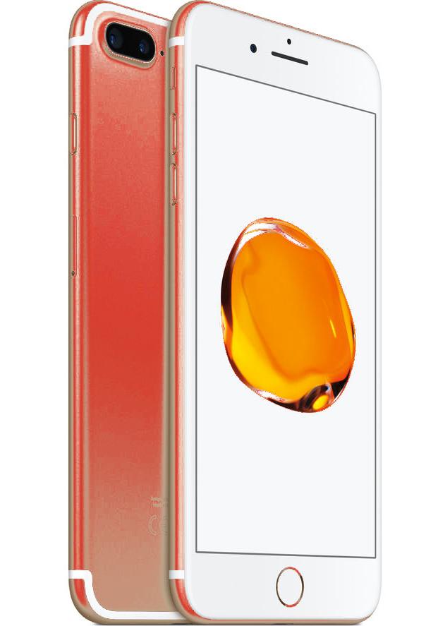 Hipotético iPhone 7 rojo