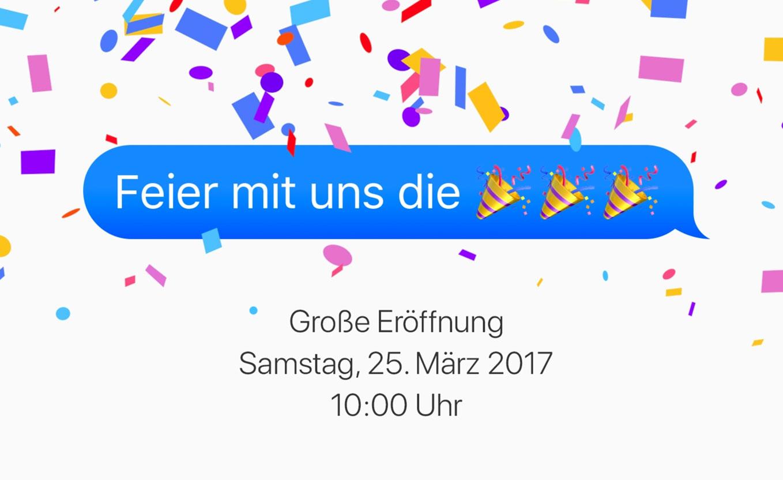 Unauguración de la Apple Store Schildergasse en Alemania