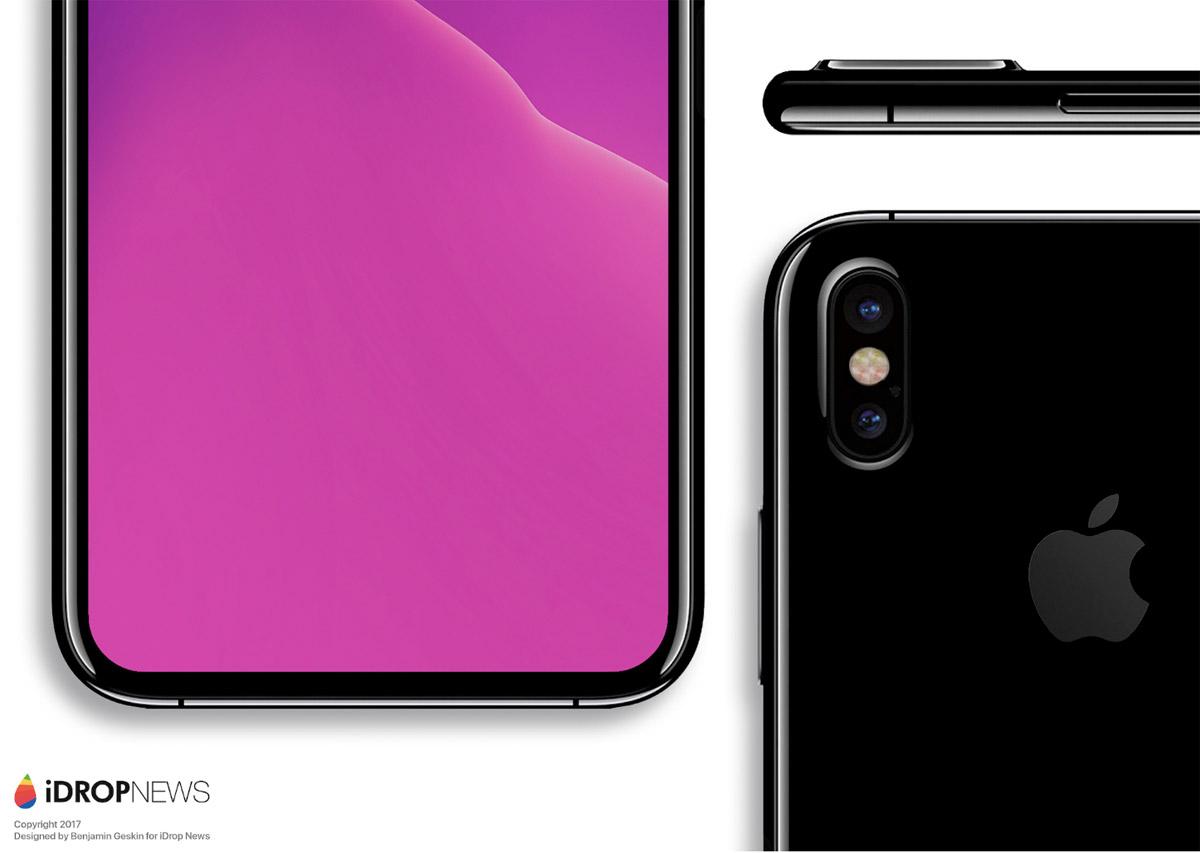 Concepto de diseño dei Phone 8