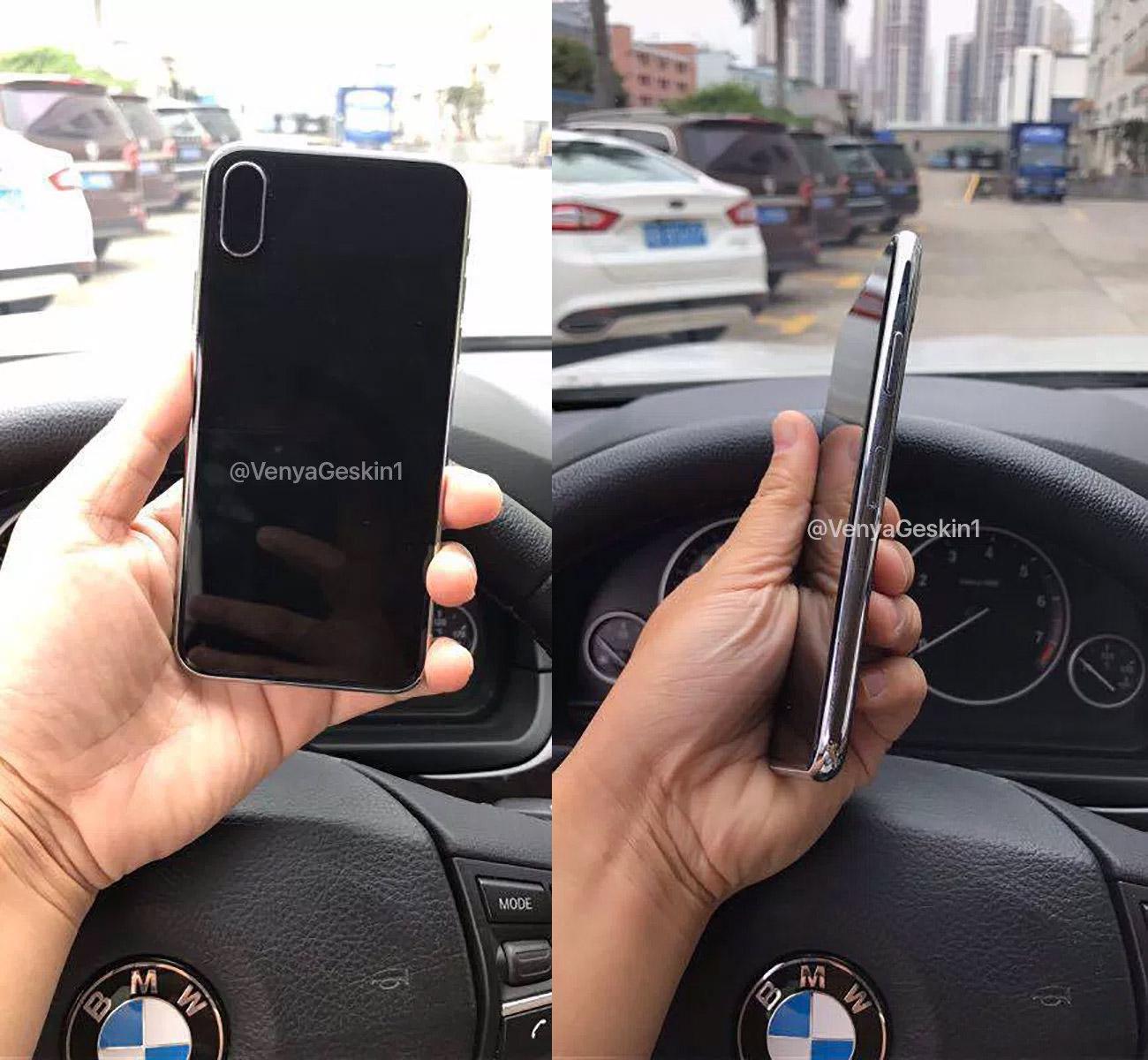 Supuesta maqueta del supuesto iPhone 8