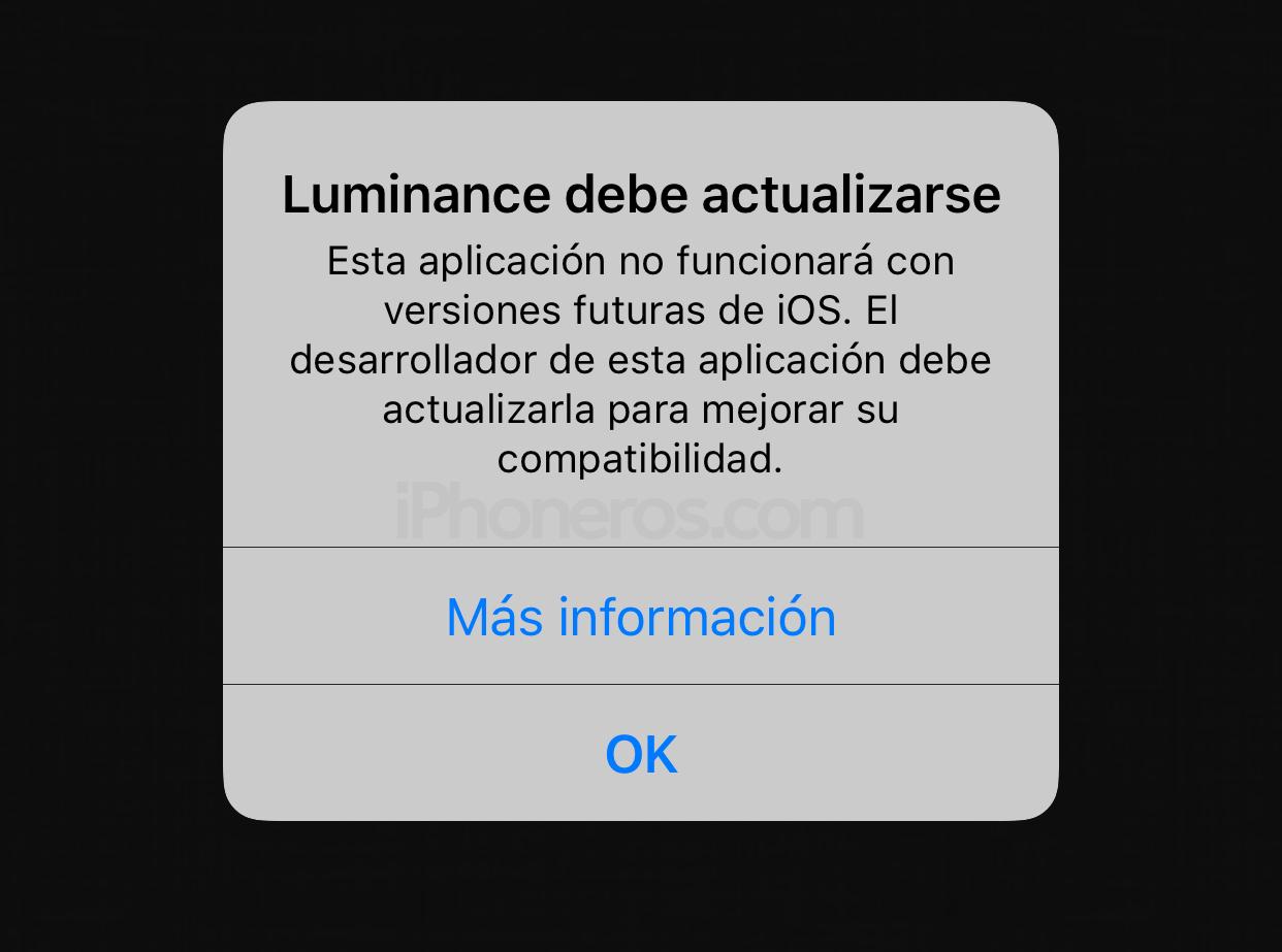 Aviso de soporte para apps de 32 bits