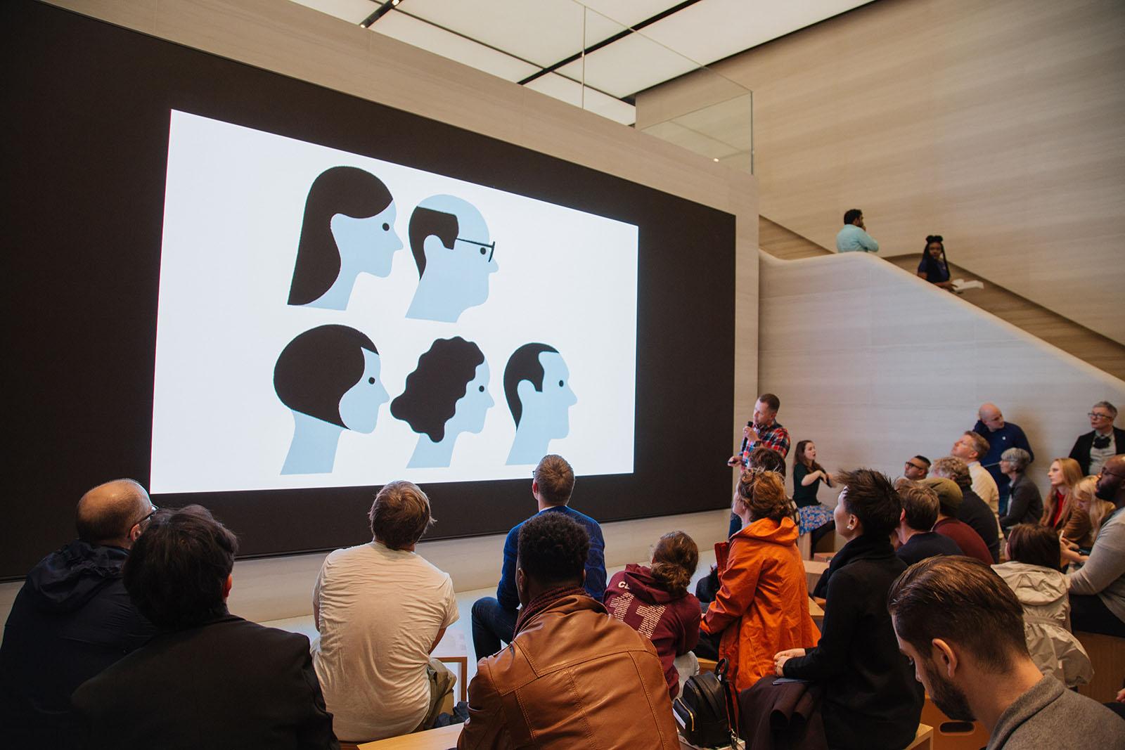 Actividades culturales y educativas en las Apple Store